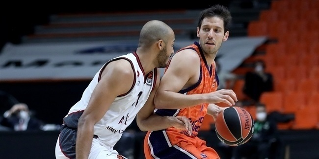 RS Round 7: Valencia Basket vs. AX Armani Exchange Milan