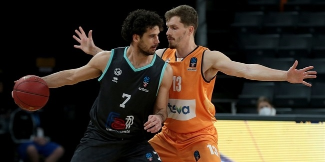 7DAYS EuroCup, Regular Season Round 7: ratiopharm Ulm vs. Germani Brescia
