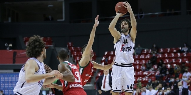 With Teodosic on offense and tough defense, Virtus was too much for Lokomotiv