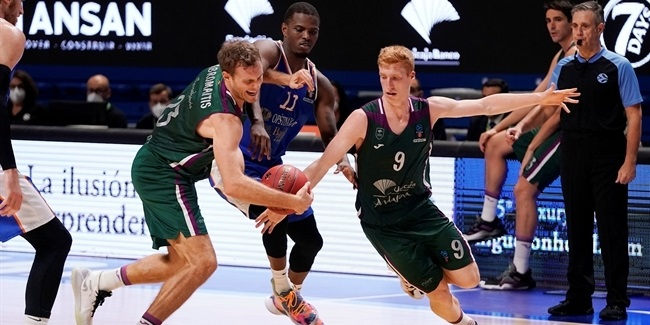 7DAYS EuroCup, Regular Season Round 7: Unicaja Malaga vs. Mornar Bar