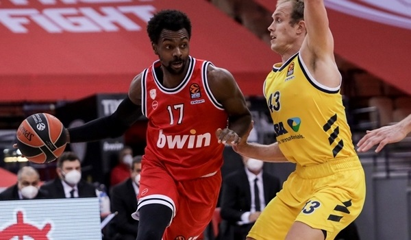 RS8 Report: Olympiacos rallies from 15 down to beat ALBA