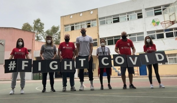 Olympiacos beats lockdown to deliver One Team session