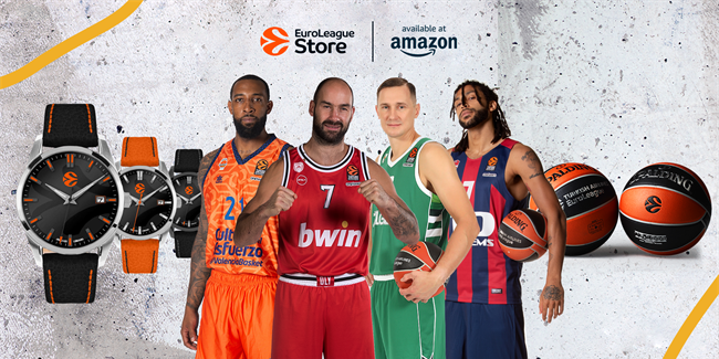 Euroleague Basketball offers new merchandise store at Amazon