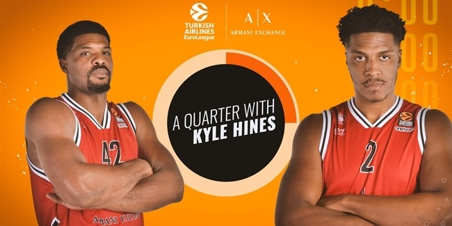 A Quarter With Kyle Hines is back!