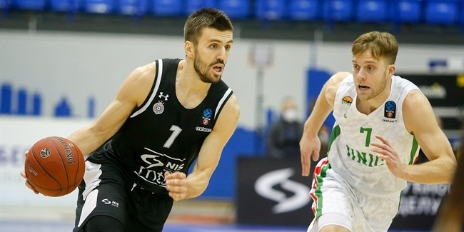 7DAYS EuroCup, Regular Season Round 8: Partizan NIS Belgrade vs. UNICS Kazan