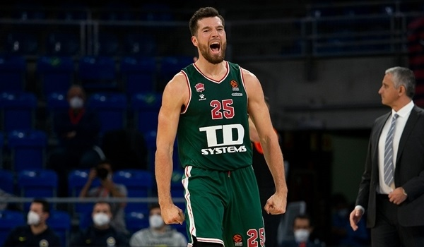 Peters was the protagonist for Baskonia