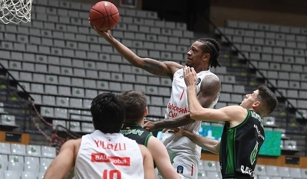 Trio steps up in Bahcesehir's first EuroCup win