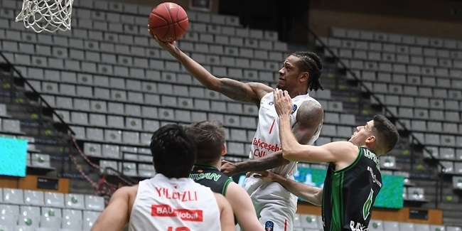 Trio steps up in Bahcesehir's first EuroCup win ever