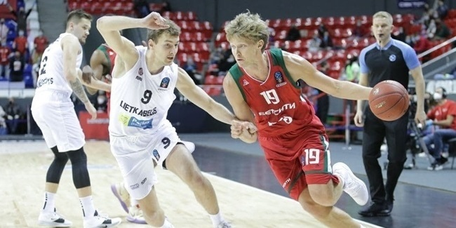 7DAYS EuroCup, Regular Season Round 8: Lokomotiv Kuban Krasnodar vs. Lietkabelis Panevezys