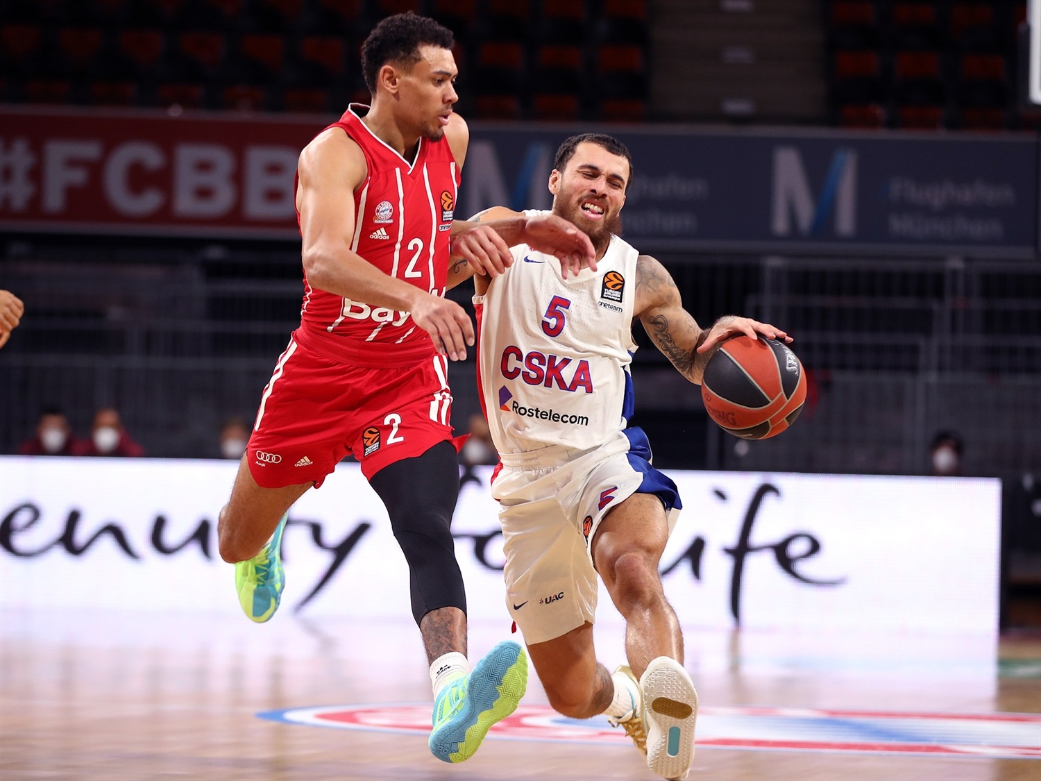 Mike James - CSKA Moscow - EB20