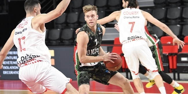 7DAYS EuroCup, Regular Season Round 4: JL Bourg en Bresse vs. UNICS Kazan