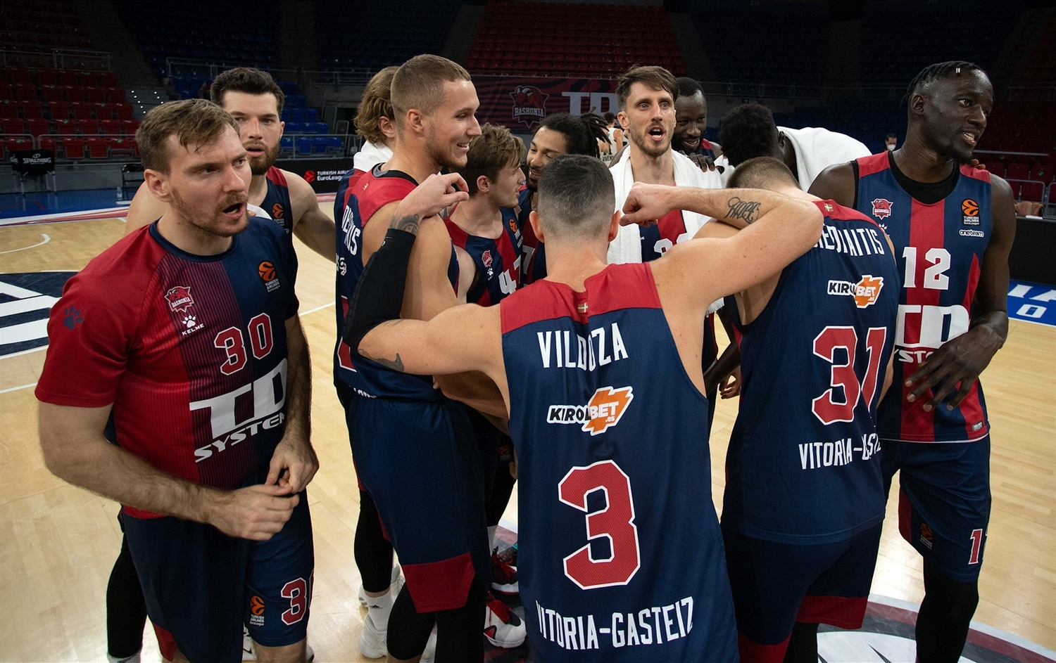 Players TD Systems Baskonia Vitoria-Gasteiz - EB20