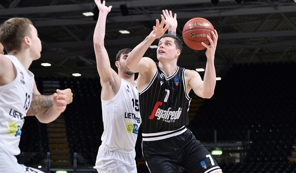 Round 6 Report, replay: Virtus uses big third quarter to roll past Lietkabelis
