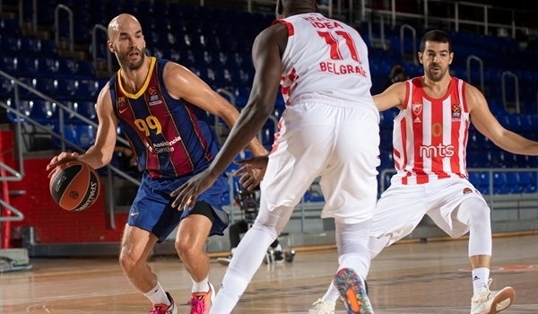 RS10 Report: Barca downs Zvezda, extends win streak
