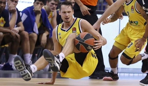 ALBA's Eriksson suffers ankle injury