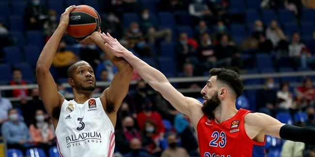 RS Round 11: CSKA Moscow vs. Real Madrid
