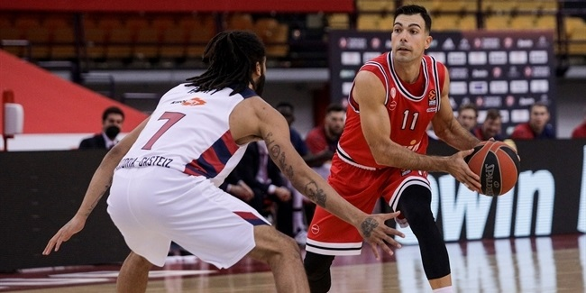 RS Round 11: Olympiacos Piraeus vs. TD Systems Baskonia Vitoria-Gasteiz