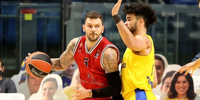 RS Round 11: Maccabi Playtika Tel Aviv vs. AX Armani Exchange Milan