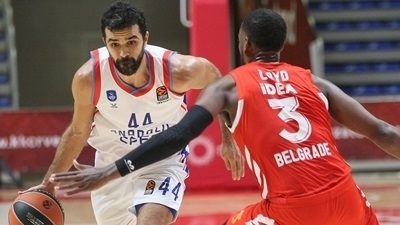 In the Paint – Efes triumphs in Belgrade