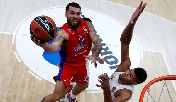 November MVP interview, Mike James, CSKA: 'We're moving good now'