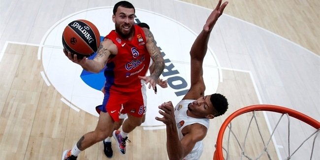 Mike James, CSKA: 'We're moving good now'