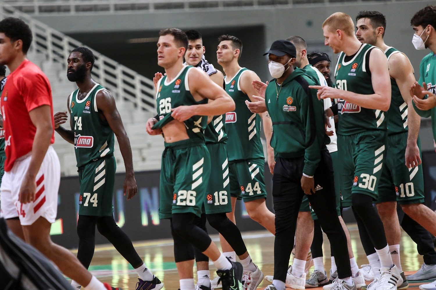Players Panathinaikos OPAP Athens - EB20