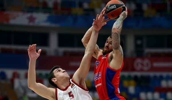 RS12 Report: CSKA rolls Olympiacos for 7th straight win
