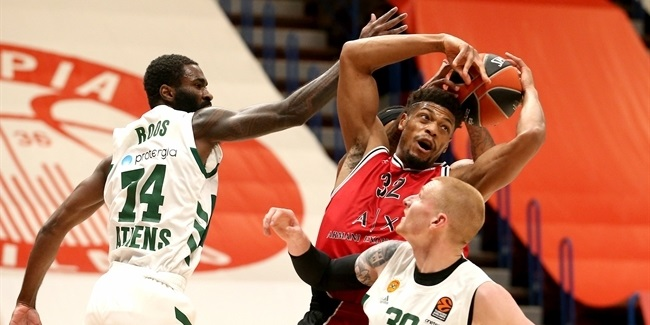RS Round 12: AX Armani Exchange Milan vs. Panathinaikos OPAP Athens