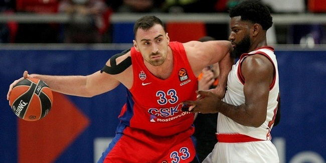 MVP for December: Nikola Milutinov, CSKA Moscow