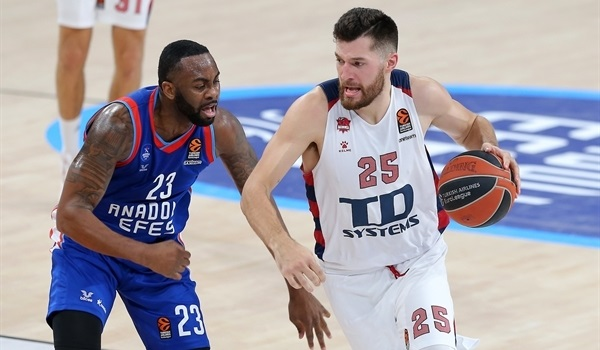 RS12 Report: Peters, defense lift Baskonia past host Efes