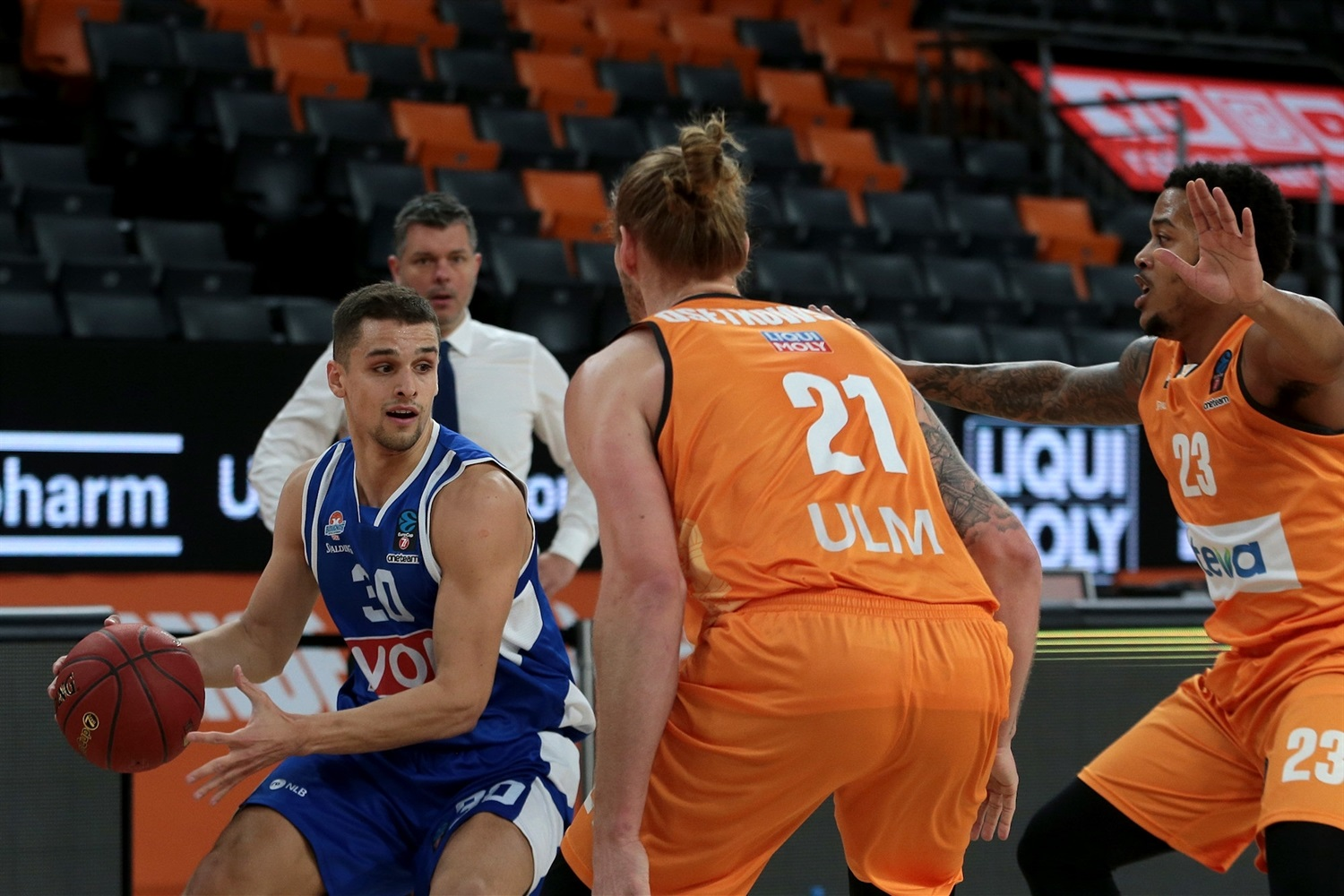 Petar Popovic - Buducnost Voli Podgorica (photo Ulm - Harry Langer) - EC20