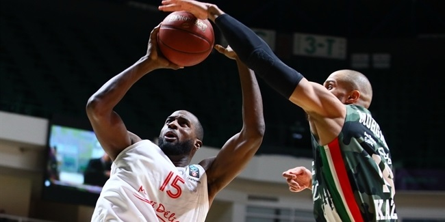 7DAYS EuroCup, Regular Season Round 9: UNICS Kazan vs. JL Bourg en Bresse