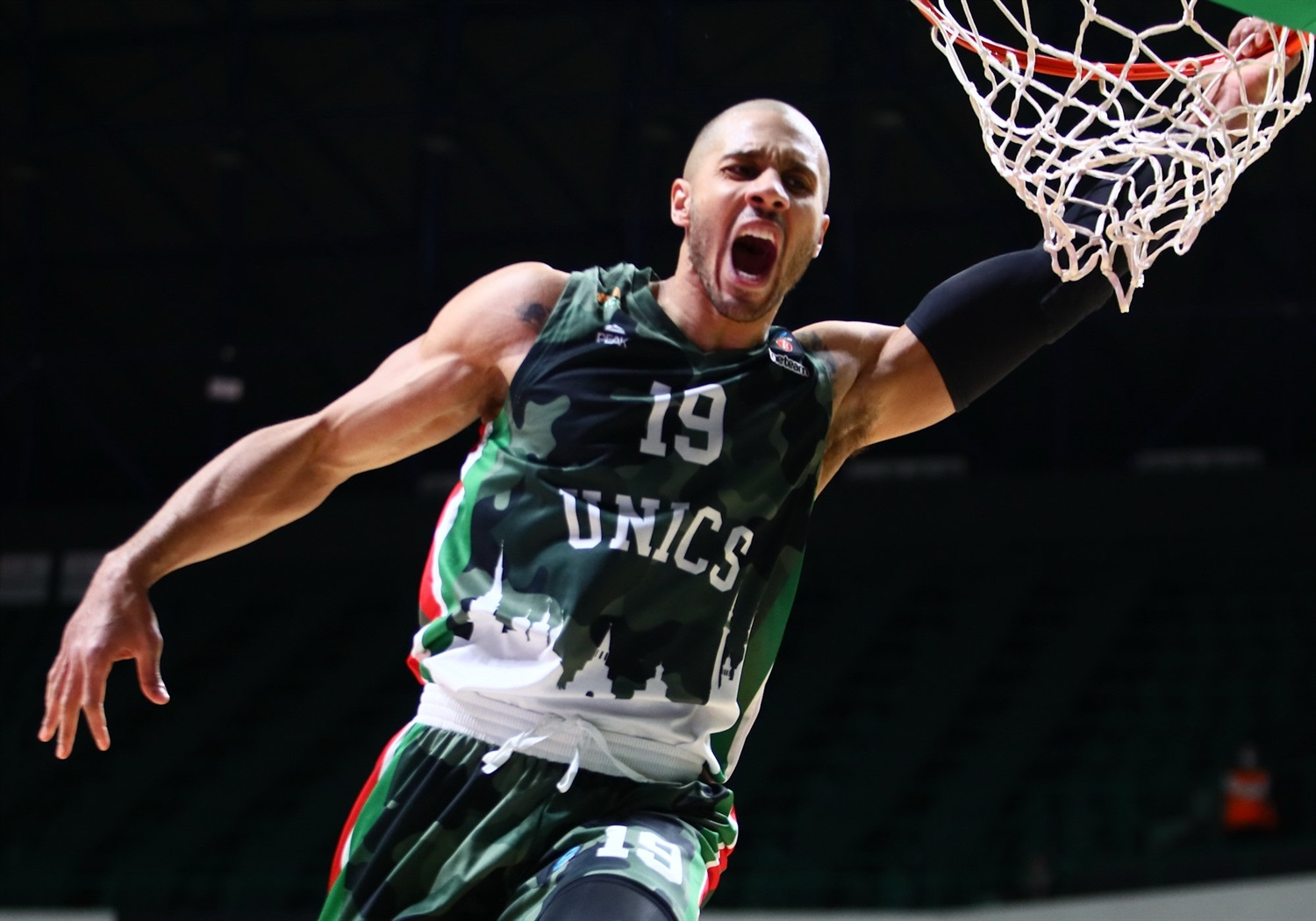 Jordan Morgan - UNICS Kazan  (photo Unics - Kseniya Bogdanova) - EC20