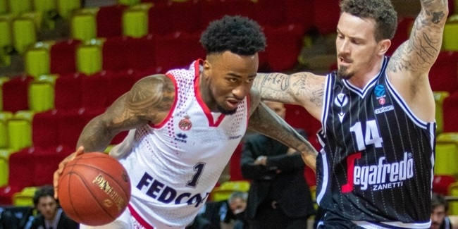 7DAYS EuroCup, Regular Season Round 9: AS Monaco vs. Virtus Segafredo Bologna