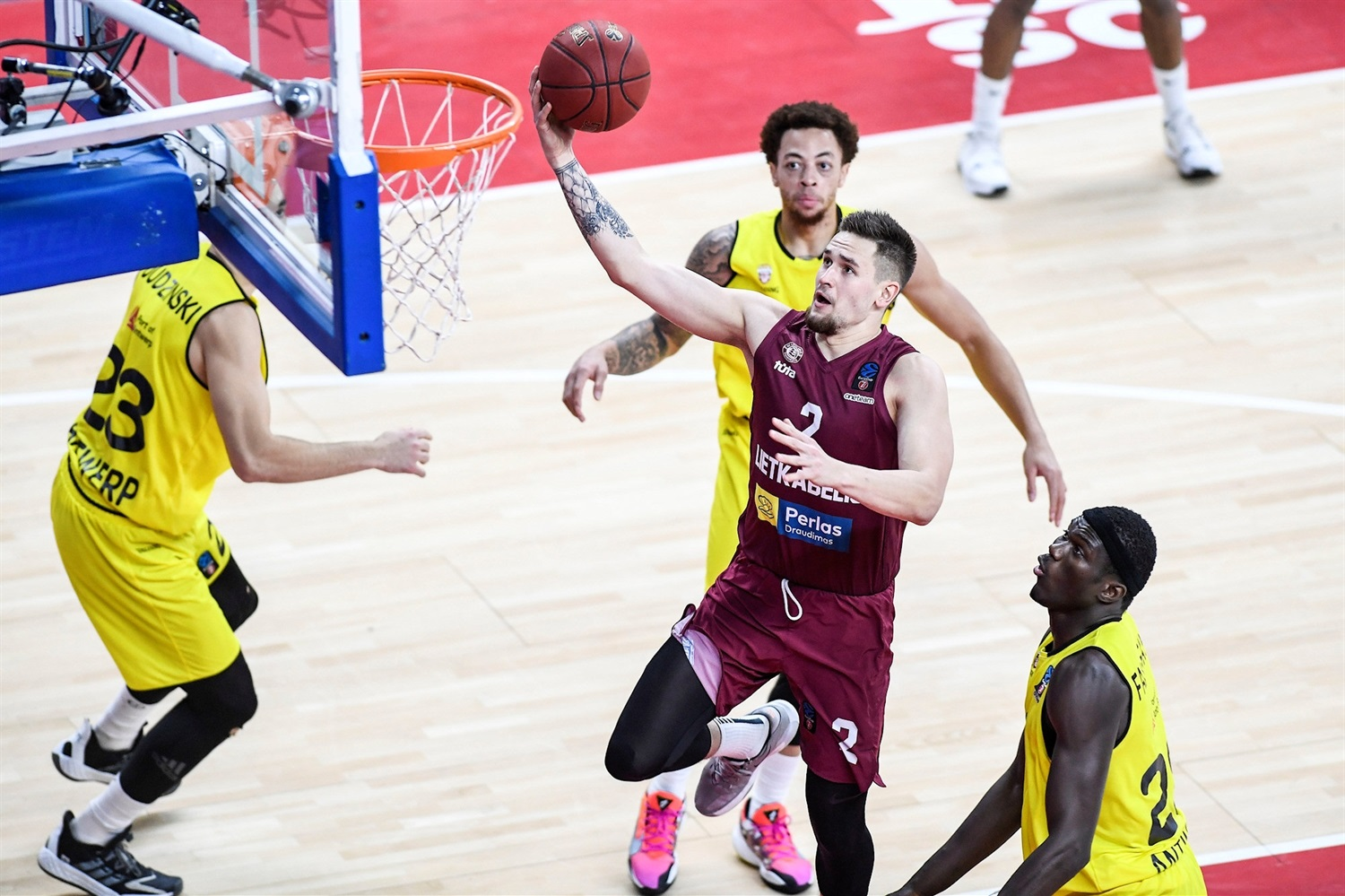 Margiris Normantas - Lietkabelis Panevezys (photo Giants - Goyvaerts - GMax Agency) - EC20
