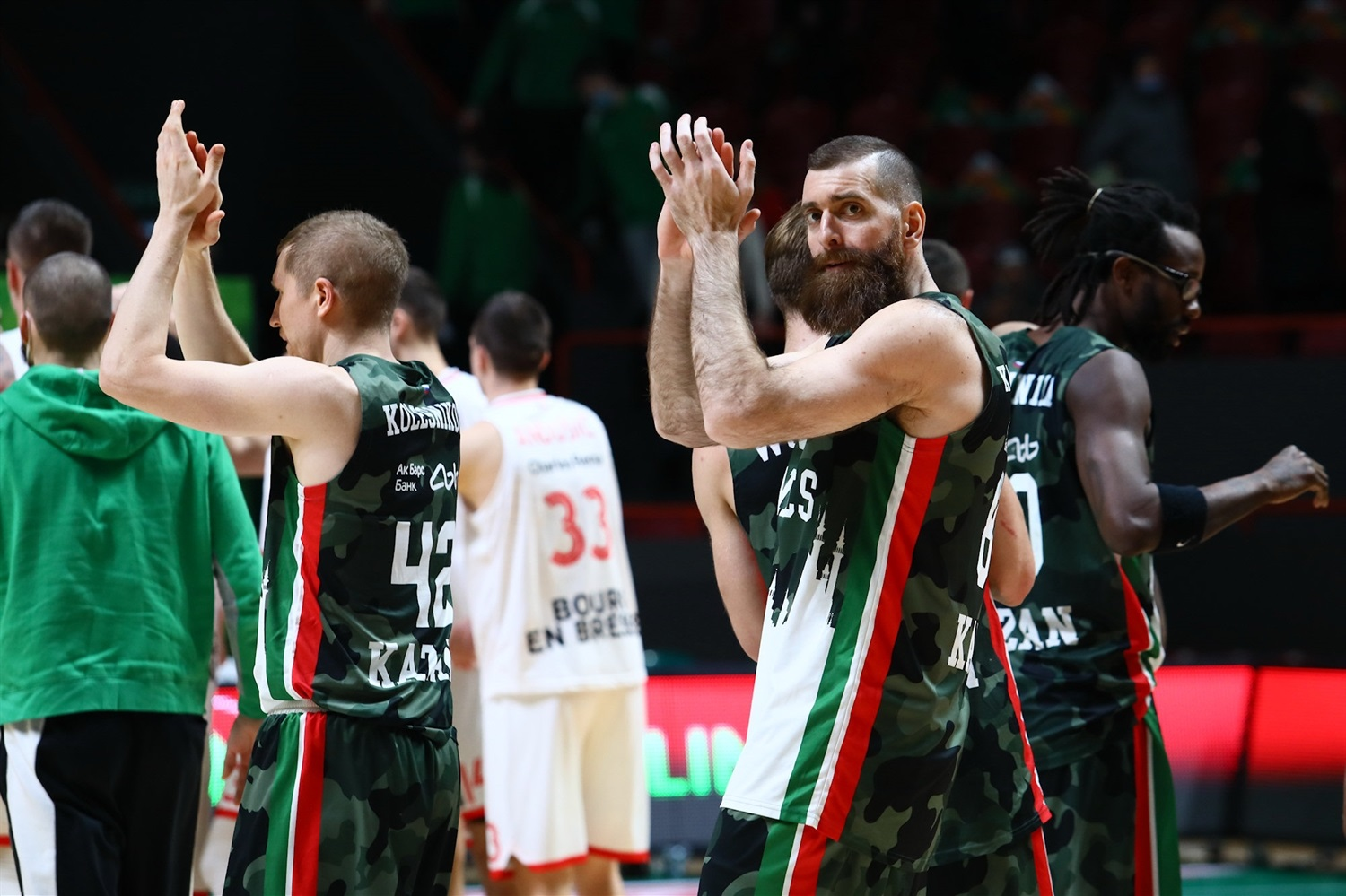 UNICS Kazan celebrates  (photo Unics - Kseniya Bogdanova) - EC20