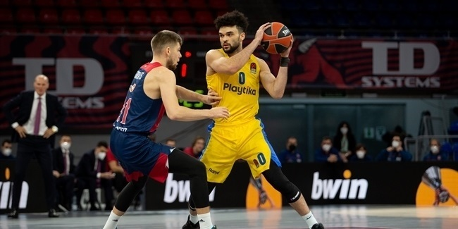 Maccabi rides bench to hard-fought win