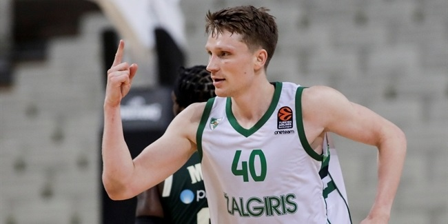 Self-confidence let Zalgiris snap losing streak