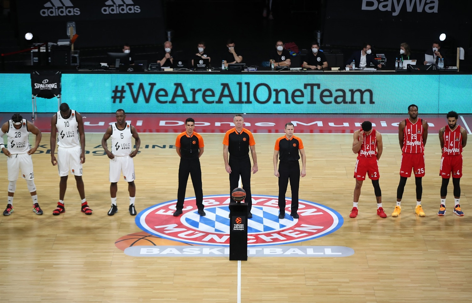We Are All One Team - Bayern vs. ASVEL - EB20