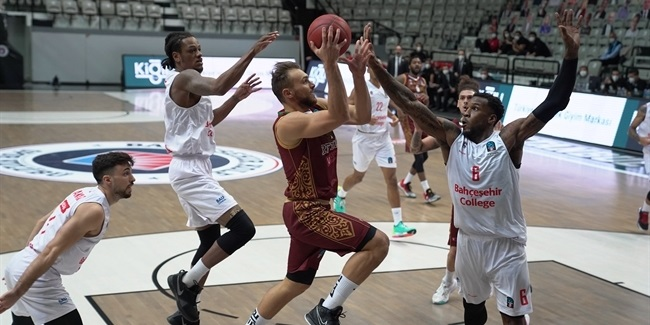7DAYS EuroCup, Regular Season Round 10: Bahcesehir Koleji Istanbul vs. Umana Reyer Venice