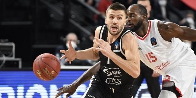 7DAYS EuroCup, Regular Season Round 10: JL Bourg en Bresse vs. Partizan NIS Belgrade