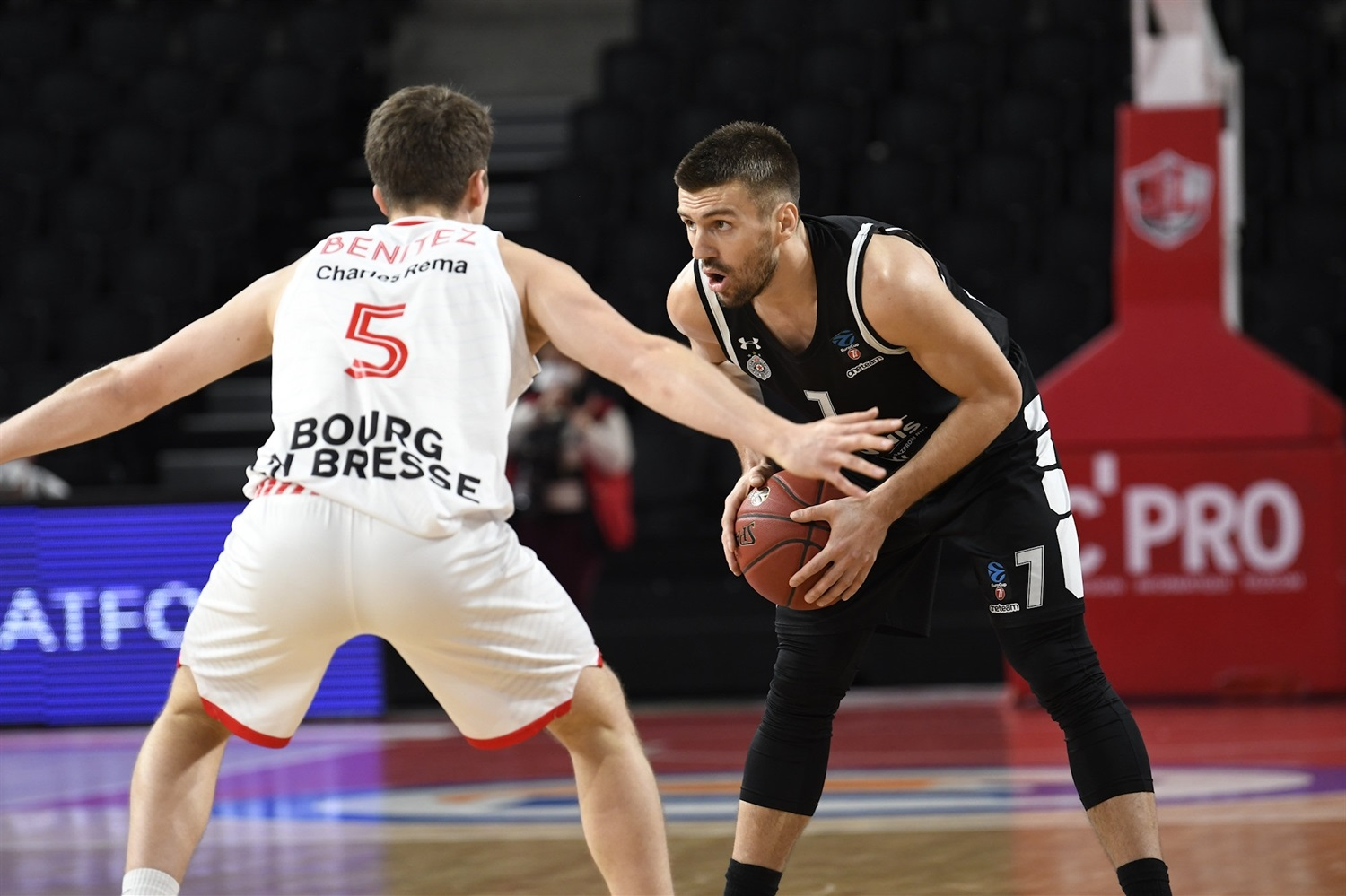 Nemanja Gordic - Partizan NIS Belgrade (photo Jacques Cormareche) - EC20