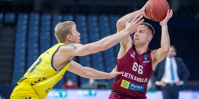 7DAYS EuroCup, Regular Season Round 10: Lietkabelis Panevezys vs. MoraBanc Andorra