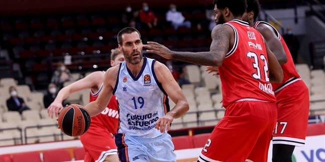 RS Round 14: Olympiacos Piraeus vs. Valencia Basket