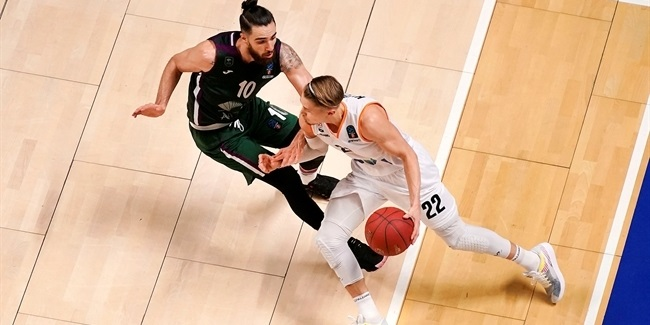 7DAYS EuroCup, Regular Season Round 10: Unicaja Malaga vs. ratiopharm Ulm
