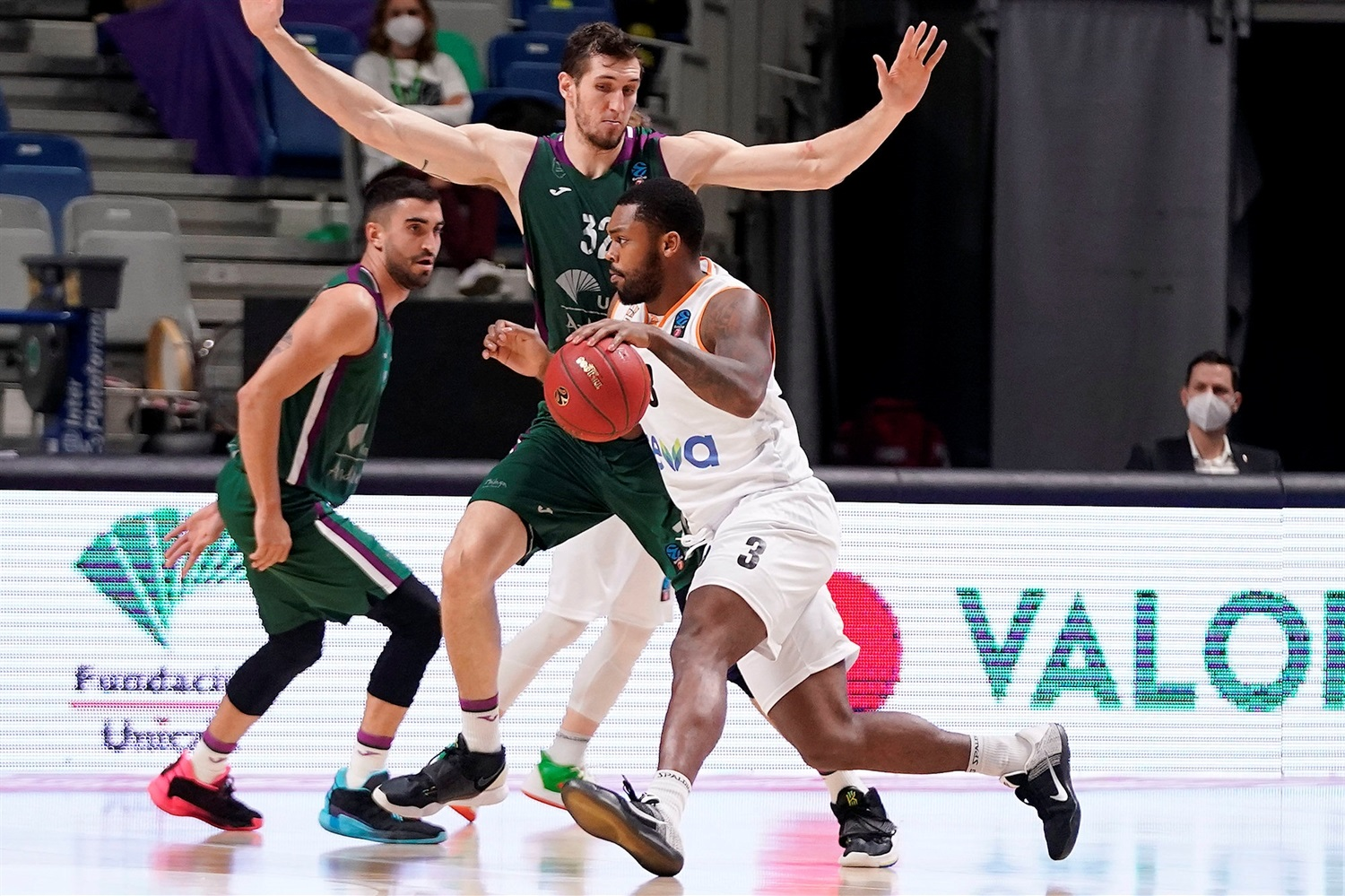 Trey Landers - ratiopharm Ulm (photo Unicaja - Mariano Pozo) - EC20