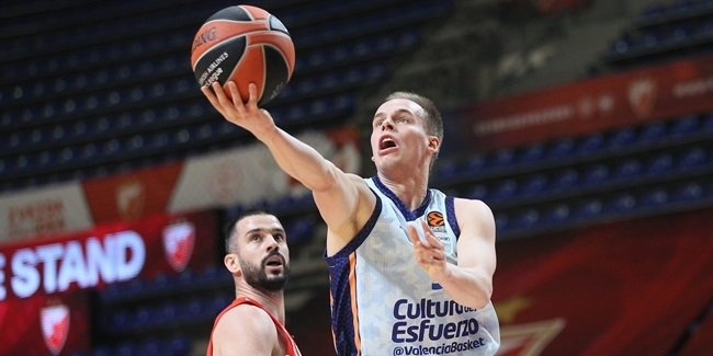 Who's Hot: Klemen Prepelic, Valencia Basket