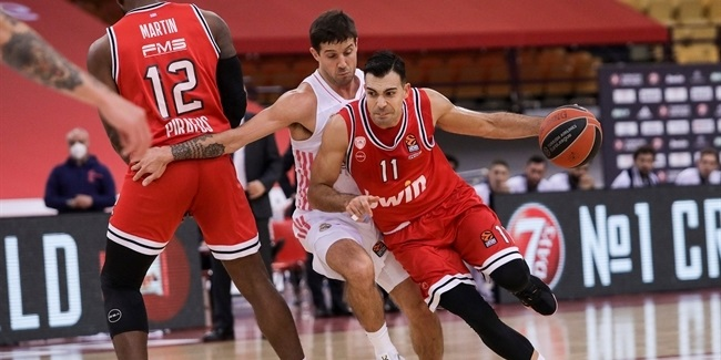 RS Round 15: Olympiacos Piraeus vs. Real Madrid