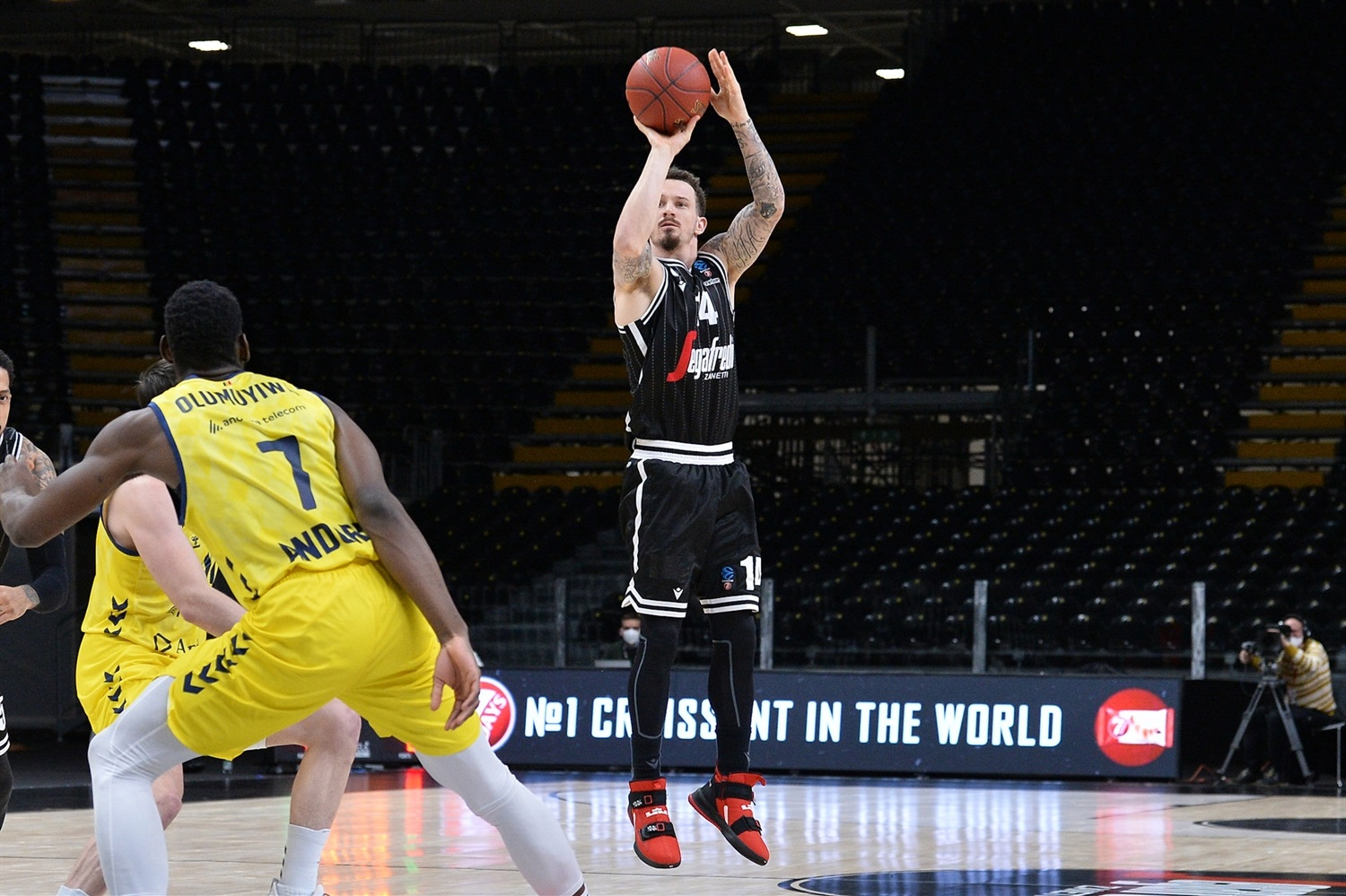Josh Adams - Virtus Segafredo Bologna (photo Virtus - Giulia Pesino) - EC20