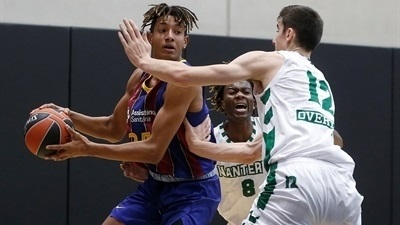 Barcelona finishes group play with emphatic win over Nanterre